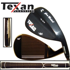 Texan Clasiscs GUN METAL 64° LOB WEDGE