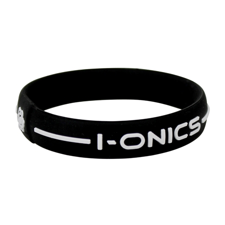 I-ONICS Power Sport Magnetic Band BLACK/WHITE