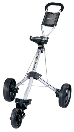 Stowamatic PRO LITE Aluminum 3 Wheel Golf Cart