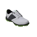 Woodworm Player V2 Leather Golf Shoe White/Neon