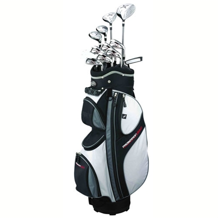 Prosimmon X9 Mens Graphite/Steel Golf Set with Bag