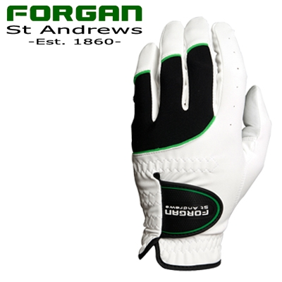 2 Forgan of St Andrews MENS AW Golf Gloves WHITE