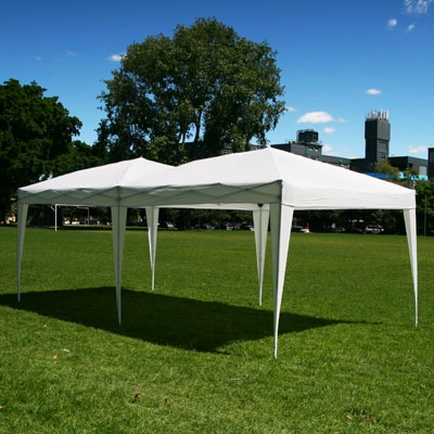 10 x 20 EZ POP UP Canopy NO SIDEWALLS
