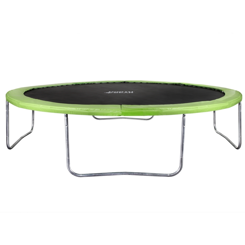 North Gear 14 Foot Trampoline Set With Safety Enclosure