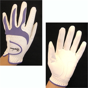 Confidence Golf Pack of 3 LADY Gloves White/Lilac