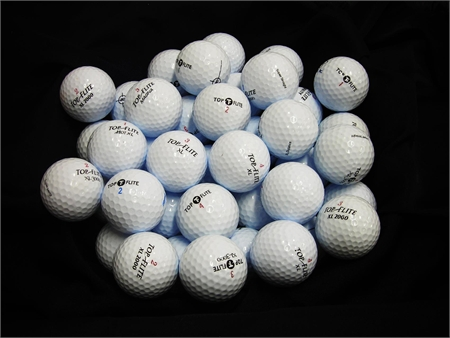 24 Top-Flite Only Mix - MINT Grade - Golf Balls
