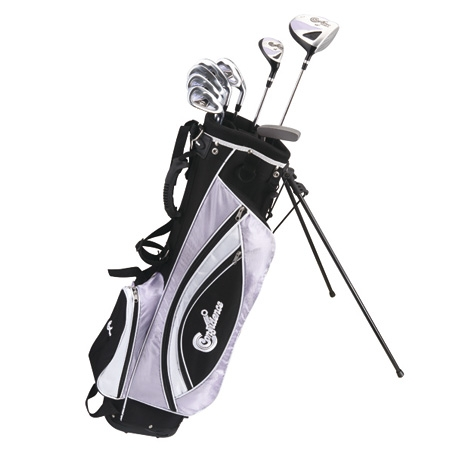 Confidence Golf Lady Power ll Club Set & Stand Bag