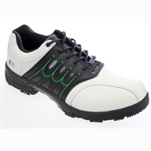 Forgan IWD Waterproof Mens Golf Shoes WHITE/BLACK