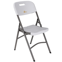 Palm Springs Molded Plastic Folding Chairs 4 Pack