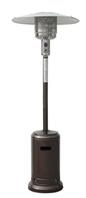 Palm Springs Hammered Bronze Propane Patio Heater