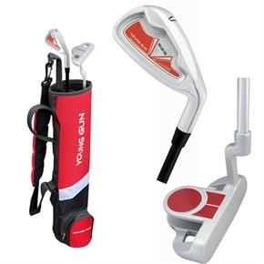 Young Gun SGS Junior Red BIRDIE Golf Set Ages 9-11