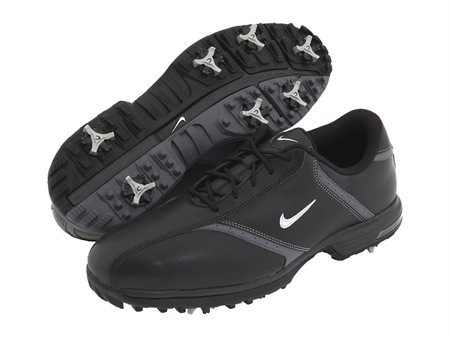Nike Mens Heritage BLACK Golf Shoes