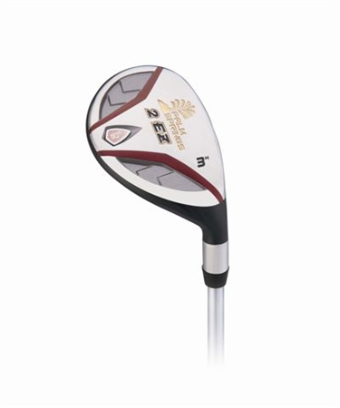 Palm Springs 2EZ Nano-Plated Lefty Hybrid Club