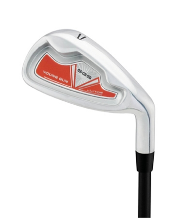 Young Gun SGS Junior Single Irons RED Ages 9-11