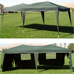 10 x 20 EZ Pop Up Canopy w/6 sidewalls
