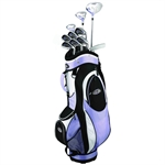 GolfGirl FWS2 Golf Clubs Package Set + Bag LILAC