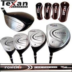 Texan Classics POWER LEFTY Titanium Woods 1-3-5-7