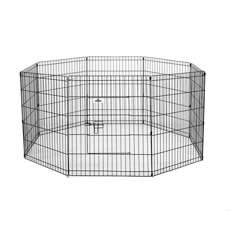 Confidence Pet Metal Dog Playpen - Medium