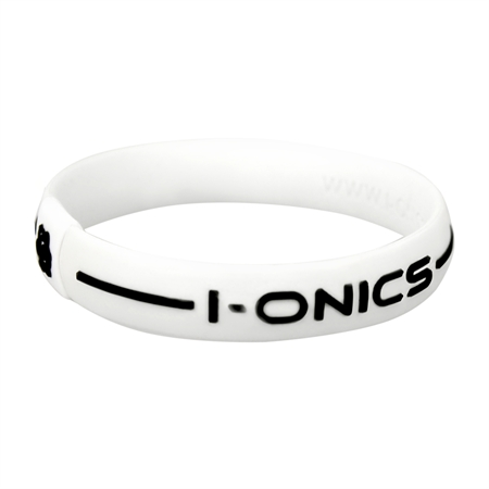 I-ONICS Power Sport Magnetic Band WHITE/BLACK