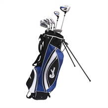 Confidence Golf Lefty Power ll Golf Club Set & Bag
