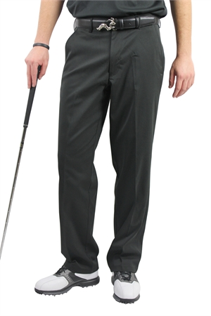 Palm Springs DryFit Flat Front Golf Pants BLACK