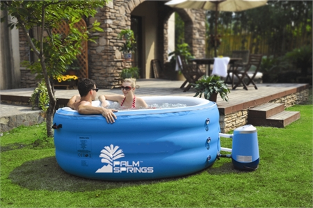 Palm Springs Inflatable Home Pro Spa w/Cover
