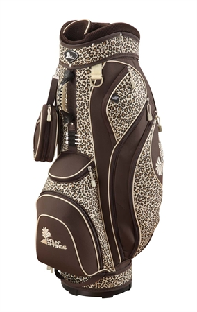 PALM SPRINGS Leopard 14 Way Divider Cart Bag