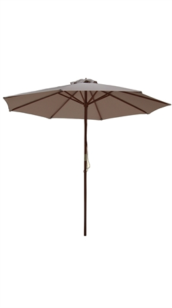 Palm Springs 8ft Wooden Parasol Umbrella