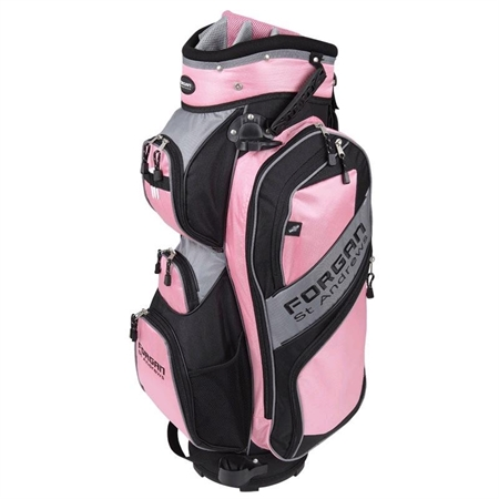 Forgan of St Andrew 14 Way Cart Bag in Pink!