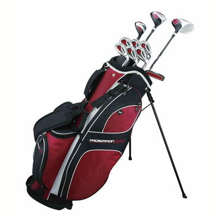 Prosimmon DRK Mens GRAPHITE Golf Set + 24 Balls