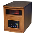 Homegear Deluxe Infrared Quartz Heater Dark Oak