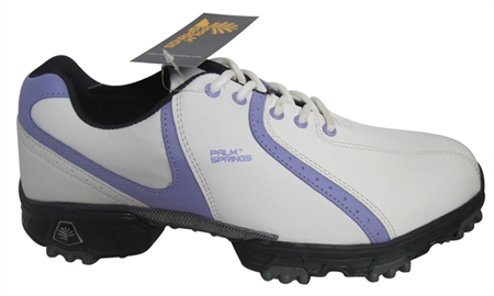 Palm Springs Lady Golf Shoes White/Mauve