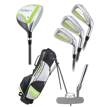 Young Gun PRO GREEN Junior Set Age 12-14