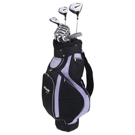Voit V7 Lady All Graphite Golf Set Bag