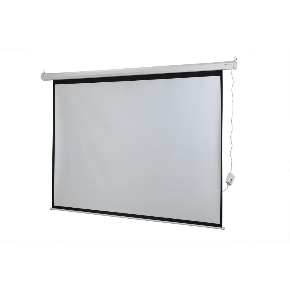 Homegear 100 4 3 Hd Electric Motorized Projector Screen