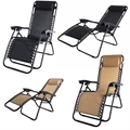 2 Palm Springs Folding Zero Gravity Recliner Chair