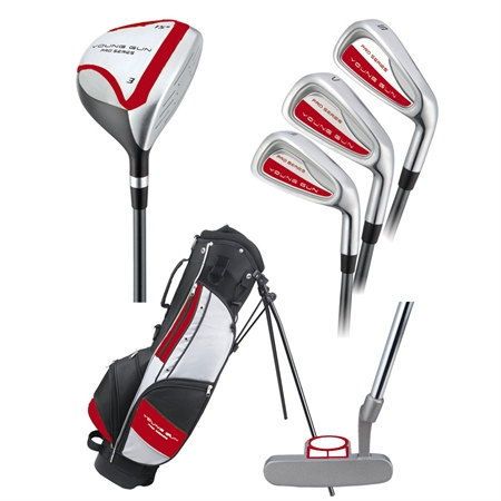 Young Gun PRO RED Junior Set Age 9-11