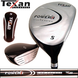 Texan Classics New POWER Titanium Fairway Wood