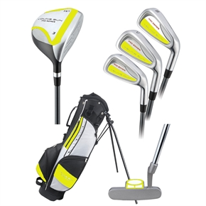 Young Gun PRO YELLOW Junior Set w/bag