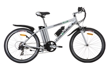 Cyclamatic Power Plus Electric Bike - Silver