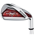 Callaway Diablo Edge Irons 4-PW, AW Steel Shafted