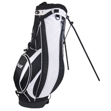 Voit Golf Black & White Stand Bag