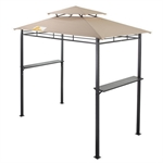 Palm Springs Deluxe 8FT Double-Tier BBQ Tent