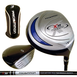 PROSiMMON X30 TITANIUM Fairway Wood IN 2 LOFTS