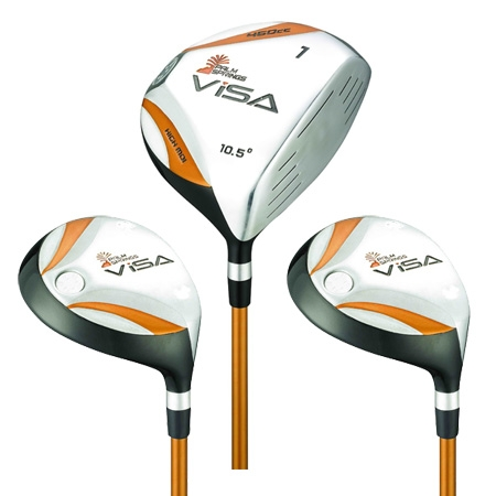 Palm Springs Visa Mens 1-3-5  Driver & Woods Set