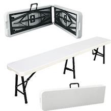 Palm Springs Folding Portable 6' BENCH Steel Frame
