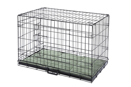 Confidence Pet Dog Crate with Bed - Medium