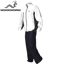 Woodworm Waterproof Mens Golf Rainsuit White
