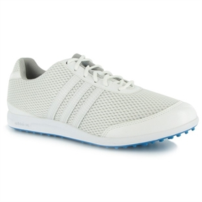 Adidas Womens Adicross Sport Golf Shoes White/Aqua