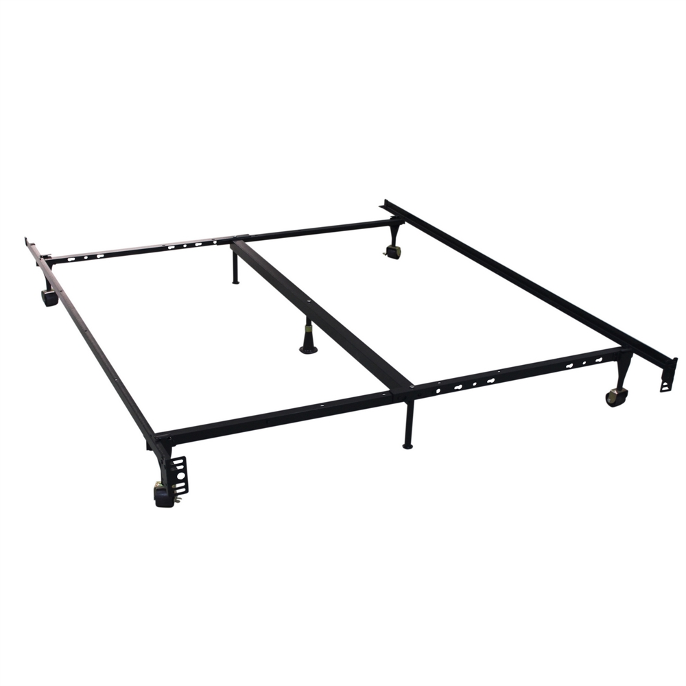 Homegear heavy duty 7 leg metal platform bed frame Metal twin bed frame